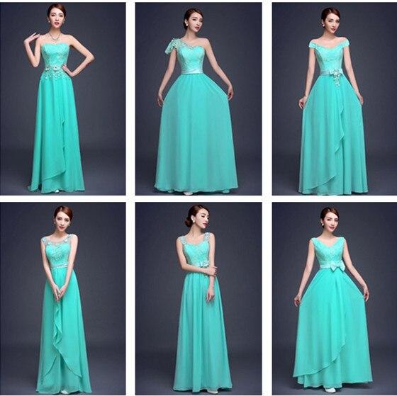 Tonos de azul para vestidos