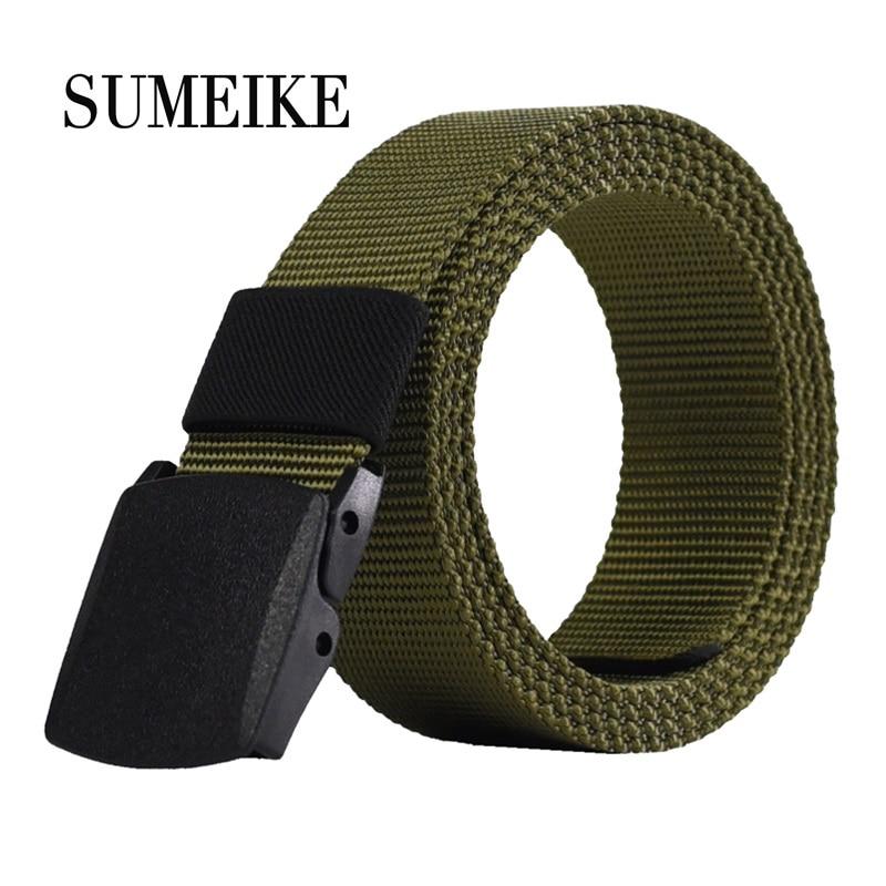 2016 Cinturón Masculino Diseñador de Alta Calidad Marca Hebilla Automática Cinturón Para Hombres Estilo Casual Cinturón Táctico Para Jeans 110 cm Al Por Mayor