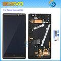 Substituição de alta qualidade para nokia lumia 930 display lcd com touch screen digitador com a montagem do quadro + ferramentas gratuitas cor preta