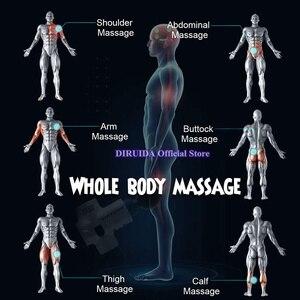 Image 2 - Yeni elektronik terapi vücut masajı silahlar 3 dosyaları 24V fırçasız LED masaj silahlar vücut kasları rahatlatıcı kabartma ağrıları ile kılıfı çanta
