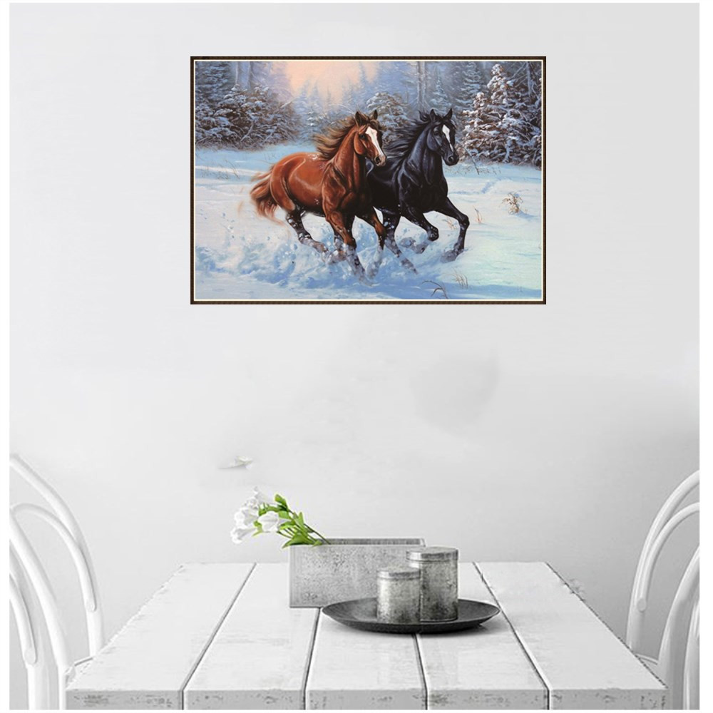 2018 New 5D Creative Embroidery Paintings Rhinestone Pasted DIY Diamond Painting Cross Stitch Home Wall Art