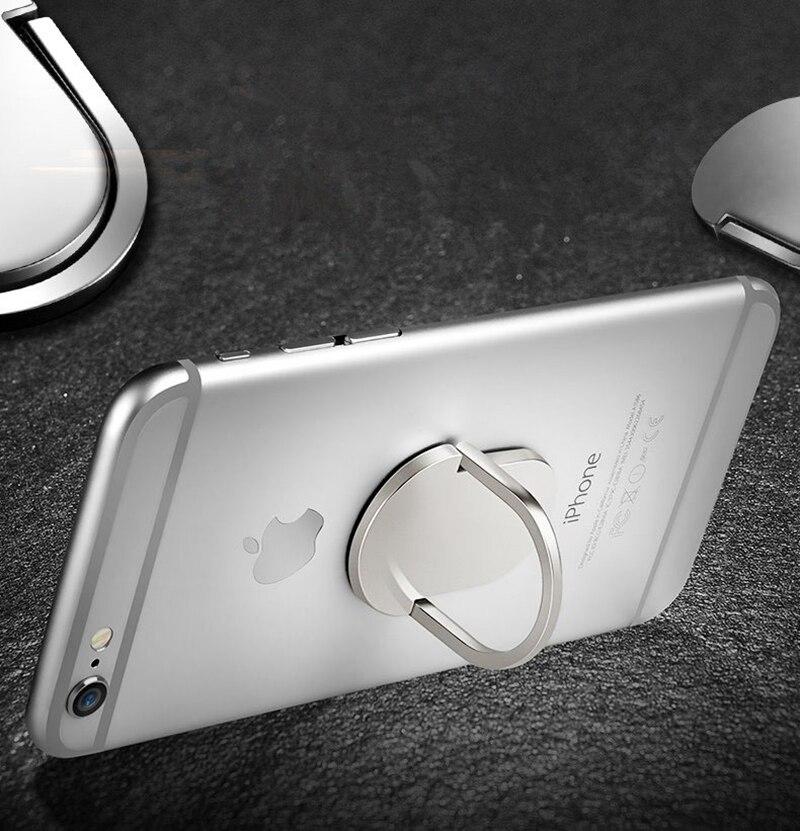 Nuevo Universal Metal Finger Ring Teléfono móvil Smartphone Soporte - Accesorios y repuestos para celulares - foto 6