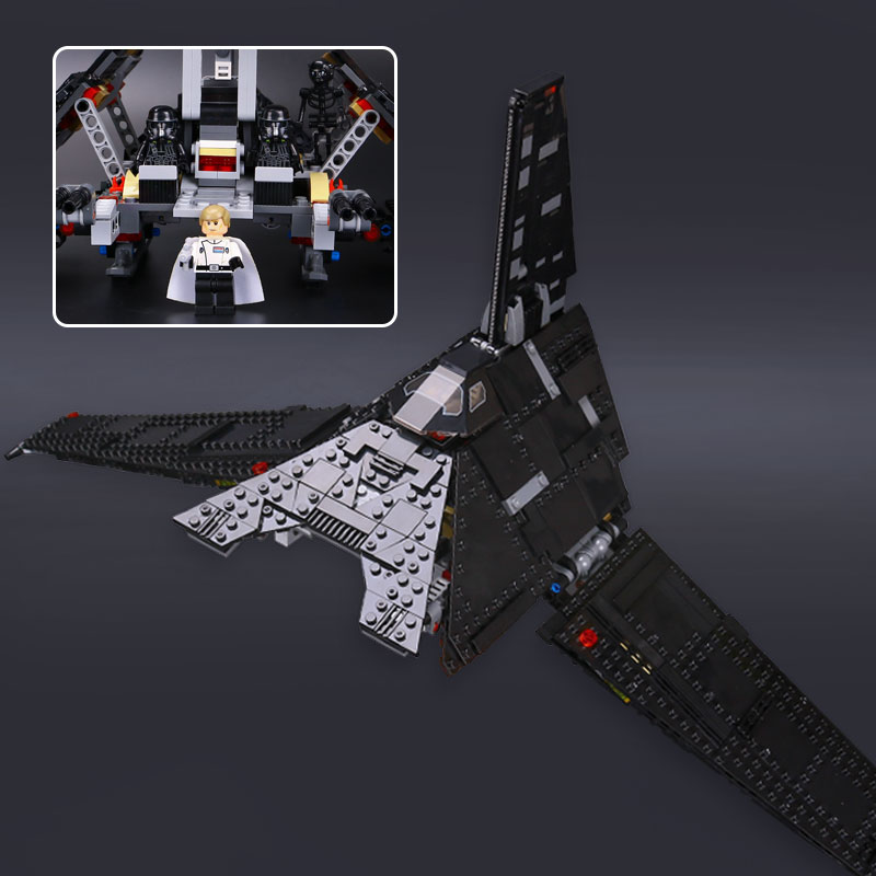 05049 Star The Krennics Imperial Shuttle Model Compatible With 75156 Building Block Wars Space Toys for