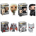 Color Box Funko POP Game of Thrones Jon Snow Daenerys Targaryen Vinyl Action Figure PVC 10cm Model Toy