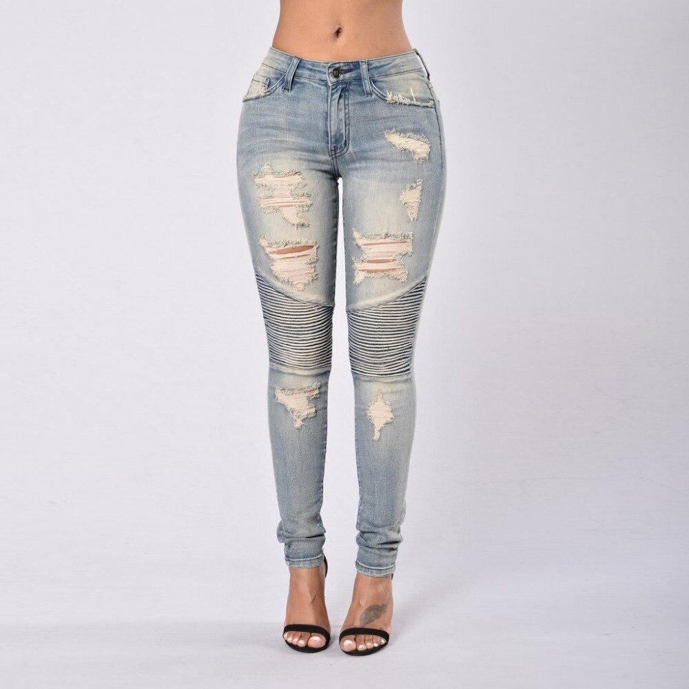 Women Tights leggings Pants Low Waist Leggings Sexy Hip Push Up Pants Pencil Skinny Female Thin Full Length Trousers Jeans 254