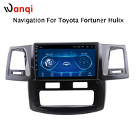 Android 8.1 2.5D Tempered HD Touchscreen 9 inch Radio fortoyota hilux 2007 2015 with Bluetooth USB WIFI support SWC