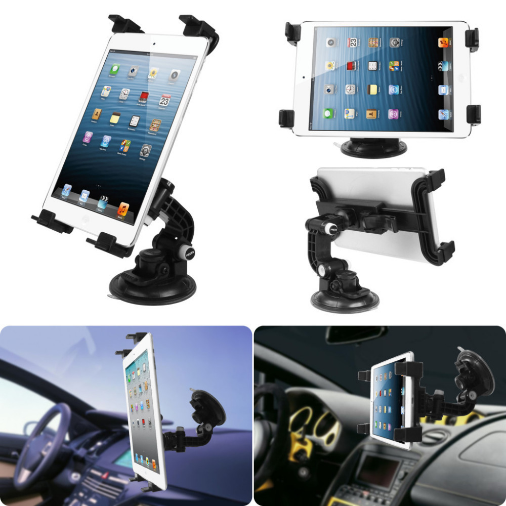 Universal seat Car Suction Mount Stand Holder Adjustable for 7 10 1 Tablet for iPad 2