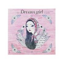 96 Páginas de Corea Chica de los Sueños de Libros Para Colorear Para Adultos para Colorear Libro de Graffiti Pintura Libro Colorear Adultos Arte Libros Para Colorear