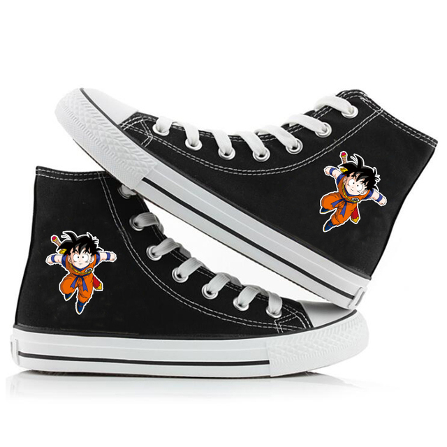 DRAGON BALL THEMED HIGH TOP SHOES (8 VARIAN)