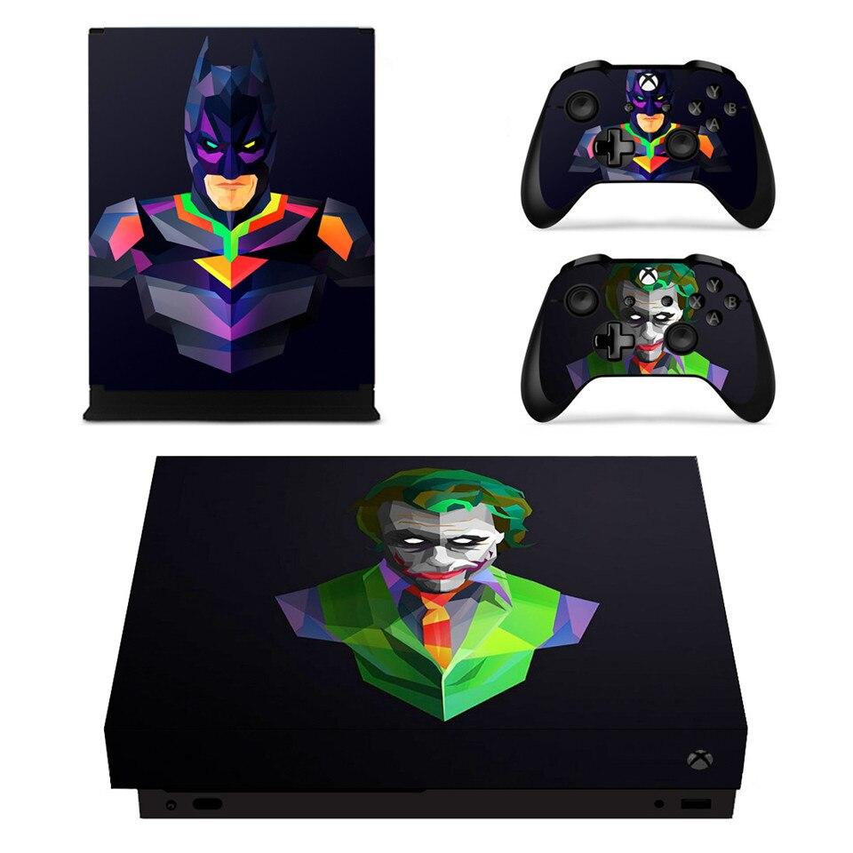 Vinyl Design Skin The Joker Batman Sticker Cover for XBOX ...