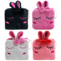 New Fashion Rabbit Cartoon Purses Female Zipper Coin Bags Children Plush Storage Bag Women Coin Wallets SY3114