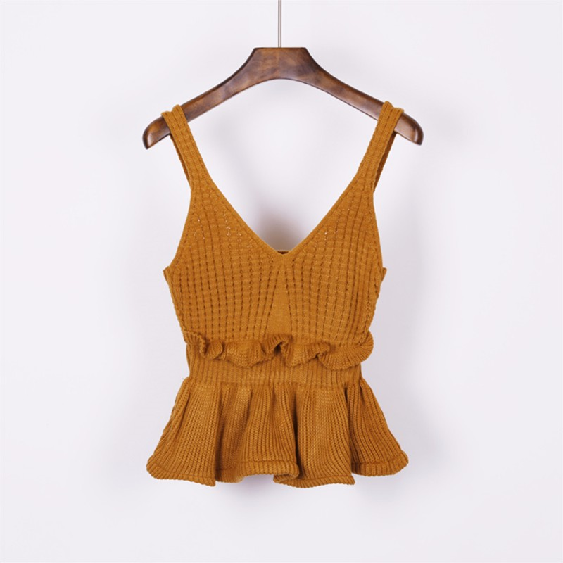 knitted vest 10