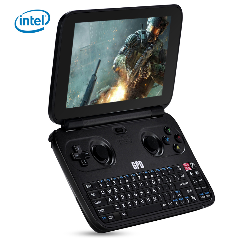 gpd win 5 5 inch gamepad tablet pc windows 10 intel cherry trail x7 z8750 quad core in cell ips. Black Bedroom Furniture Sets. Home Design Ideas