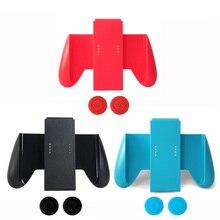 Рукоятка Yoteen для nintendo Switch Joy Con, держатель для контроллера, чехол для джойстика, джойстик, крышка для большого пальца, запасной держатель