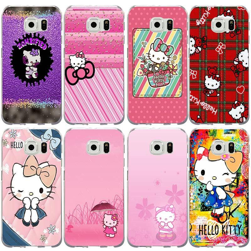 cc8db01bc Phone-Cases Plus-Lite S10-Edge Samsung Galaxy Hello-Kitty S5 Mini Note for  S2 S3 S4 S6