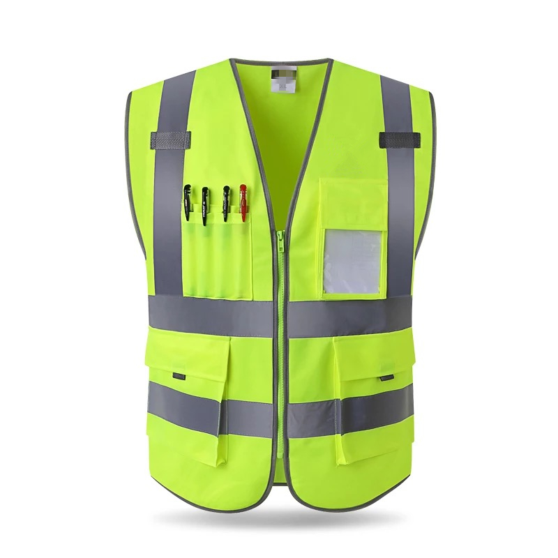 2018 de alta calidad de alta visibilidad chaleco reflectante ropa de trabajo motocicleta ciclismo deportes al aire libre ropa de seguridad reflectante