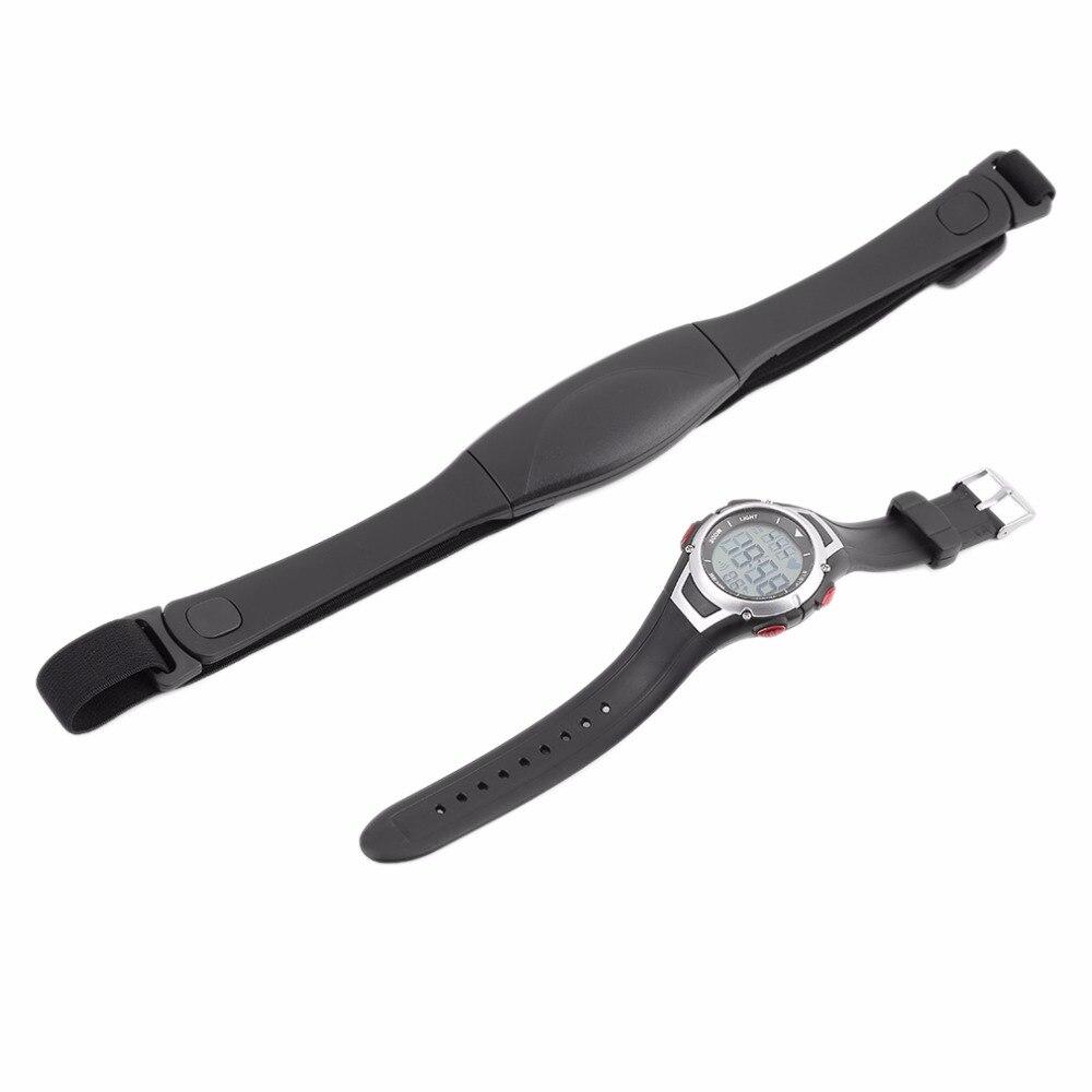 100% QualitäT Outad Digitale Uhr Herz Rate Monitor Wireless Brustgurt Sport Uhr Set Laufen Outdoor Tauchen Uhr Hintergrundbeleuchtung Alarm Uhr Seien Sie Im Design Neu