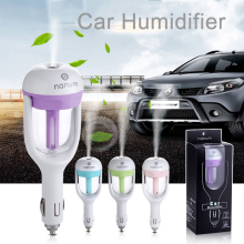 4 Colors Car Humidifier Mini Portable 180Degree Mist Maker DC 12V Diffuser