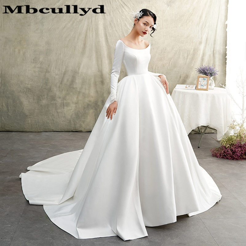 African Wedding Gown: Mbcully Ball Gown Wedding Dresses 2019 Vintage Long