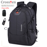 Crossten USB Charging Port Multifunctional Laptop Bag 16 Quot Laptop Backpack Schoolbag Bag Travel Bag Travel
