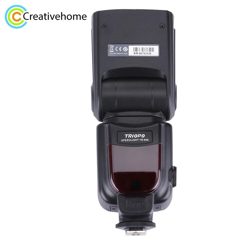 Triopo TR-950 Flash Speedlite for Canon Nikon Cameras 6D 60D 70D 550D D7100 D3100 D800 D750 D600 D90 D70 D60 DSLR Flash Light цена и фото