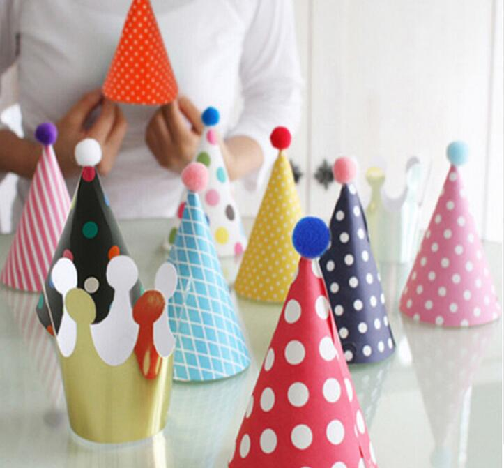 US $4 99 |11pcs/set Party Celebration Cute Party Hats Birthday Hat Festive  Party Photograph Items Birthday Party Decorations Kids Toys-in Party Hats