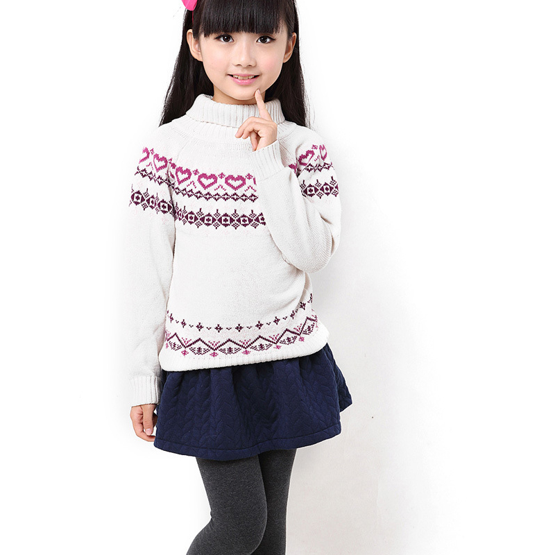 Girls leggings with skirt thick warm pants good quality for Girls shirts size 8