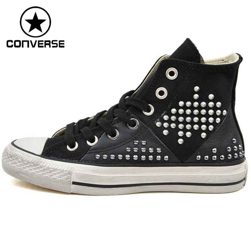 Original  Converse  Women's High Top Skateboarding Shoes Canvas Sneakers цена