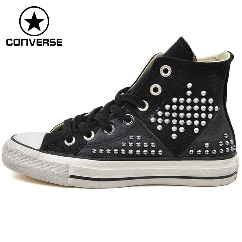 Original  Converse  Women's High Top Skateboarding Shoes Canvas Sneakers цена