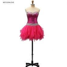 Женское короткое скромное вечернее платье с блестками фатиновая
