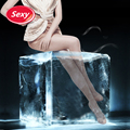 Sexy Stockings Woman Crotchless Tights Ultra Sheer Pantyhose Transparent Stockings Female Long Nylon Stockings Women's Tights