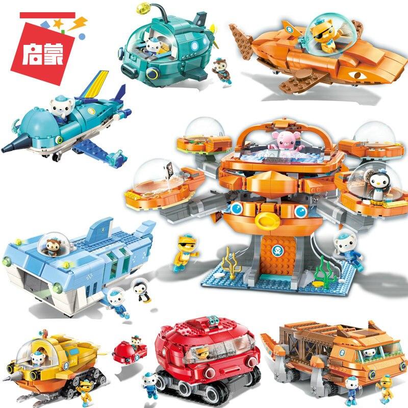 Octonaut Christmas.Us 7 11 50 Off Cartoon Movie Kids Juguetes Educational Toys Model Bricks Compatible Building Blocks Children Birthday Christmas Gifts Octonauts In