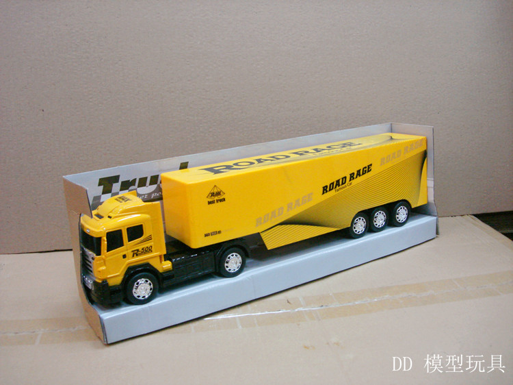 High Quality Road Race Remote Control Truck Large Container Simulation RC  Truck Series Tractors Toys Gifts Random Color In Ride On Cars From Toys U0026  Hobbies ...
