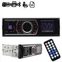 VEHEMO Universal Car Radio Stereo Player DC12V Aux Input SD USB FM Radio Head Unit MP3 Player Car styling Car-Stying