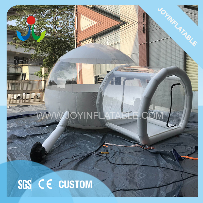 Inflatable Tarpaulin BubbleTent Transparent With Bathroom Tent Bubble Camping Clear Tunnel Tents House Outdoor Picnic Beach Lawn