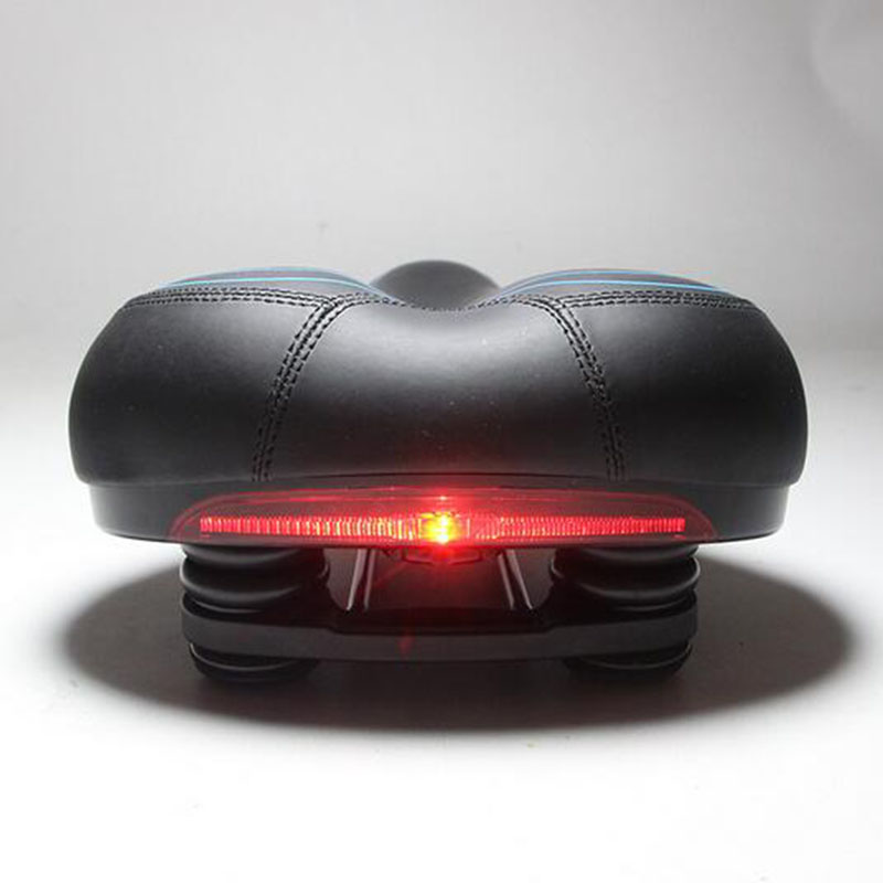 ФОТО Outdoor CyclingWith Taillights Bicycle Cushion Super soft Comfortable Saddle Seat Electric car seat cushion universal