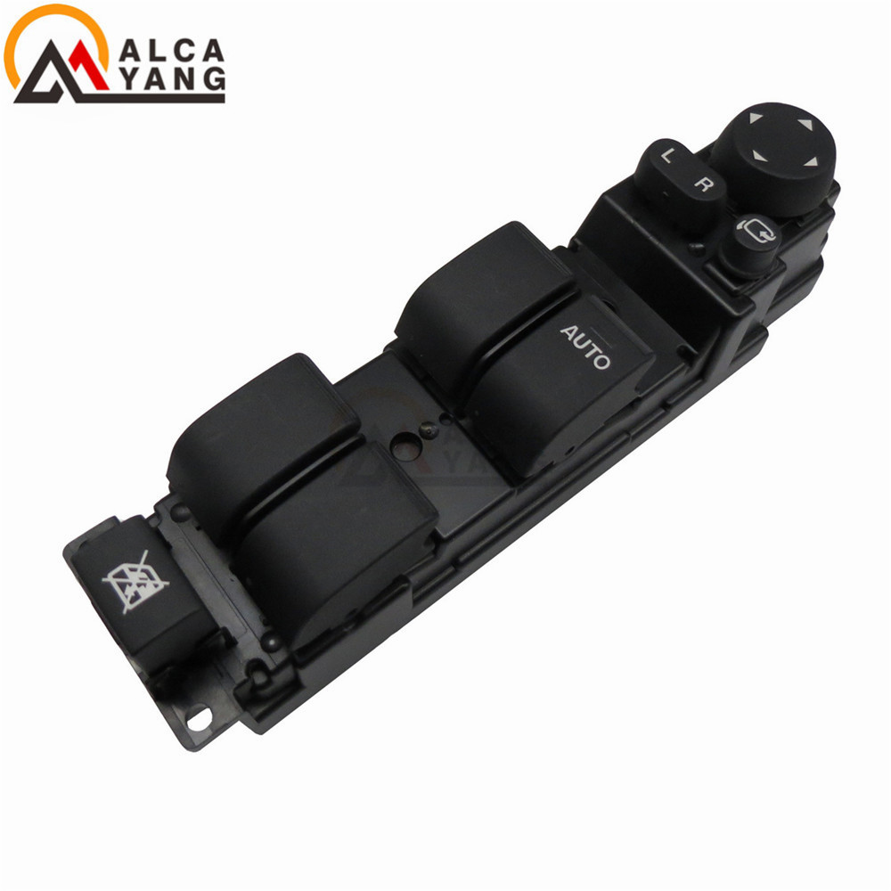 Right Hand Drive RHD Master Window Mirror Switch With Auto Folding Function Fit Mazda 2 Mazda 6 2008-2012 D652-66-350A NEW . цена 2017