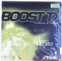 Original STIGA BOOST TX internal energy table tennis rubber for table tennis rackets racquet sports pingpong rubbers