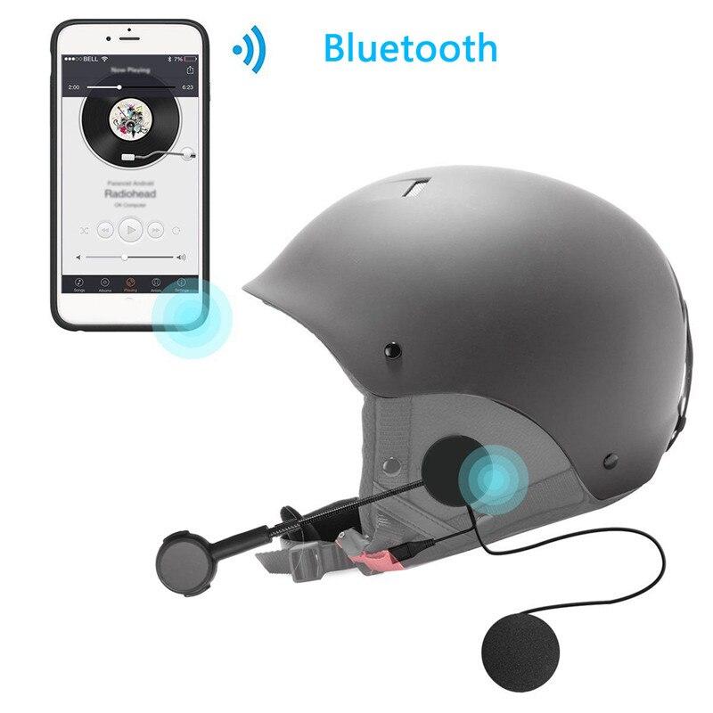 New Rechargeable Motorcycle Helmet Bluetooth 4.0 Headset Headphone Hi-Fi Earphone Standby 160 Hours
