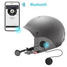New Rechargeable Motorcycle Helmet Bluetooth 4.0 Headset Headphone Hi-Fi Earphone Standby 160 Hours