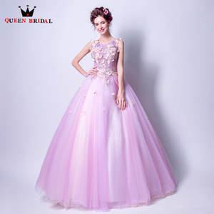 0c2020f8059 QUEEN BRIDAL Fluffy Long Evening Dresses Ball Gown Tulle 3D