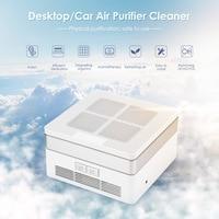 Desktop / Car Air Purifier Cleaner Anion Sterilization Removing Formaldehyde PM2.5 Home Car Air Cleaner Negative Ion Generator