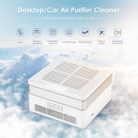 Desktop / Car Air Purifier Cleaner Anion Sterilization Removing Formaldehyde PM2.5 Home Car Air Cleaner Negative Ion Generator