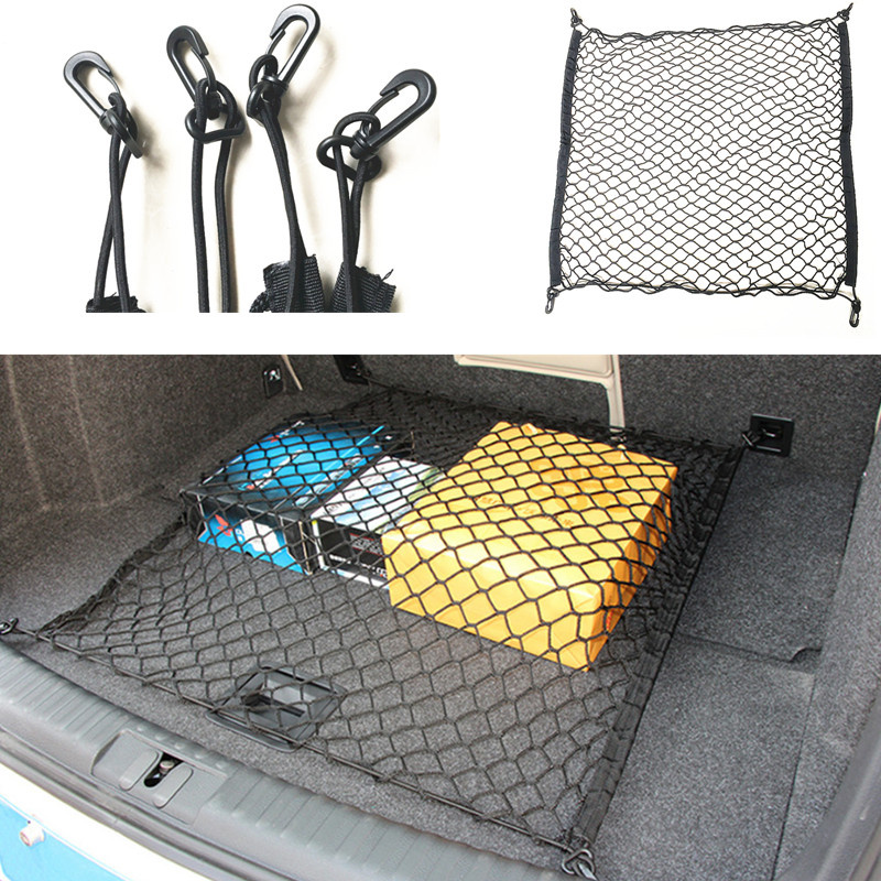 4 HOOK CAR TRUNK CARGO NET for Volkswagen VW Touareg Tiguan Golf 6 7 PASSAT B6 B7 B8 For Skoda Octavia A5 A7 Fabia superb YETI эмблема для авто vw original oem vw skoda skoda fabia octavia roomster