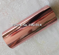 Rolls Rose Gold Hot Foil Stamping Paper Hot Pressing Transfer Anodized Gilded Paper Pink Gold Bronze
