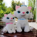 1pc 16cm  Marie Cat Plush Dolls Kawaii Soft Cartoon Animals toys for Children The Aristocats Cat Plush Toys