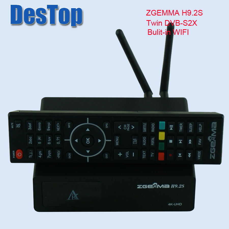 SPECIAL OFFER) ZGEMMA H9S DVB S2X Multistream 4K UHD