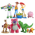 9pcs/set Toy Story 3 Buzz Lighter Woody Jessie Hamm PVC Action Figures Model Toys Kids Toys Gifts DSFG247