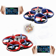 Hot New Cheerson CX-60 CX60 Outdoor Toys Phone Control 2.4G 4CH WiFi Infrared Fighting Drones Kids Gift 3D Flips RC Quadcopter