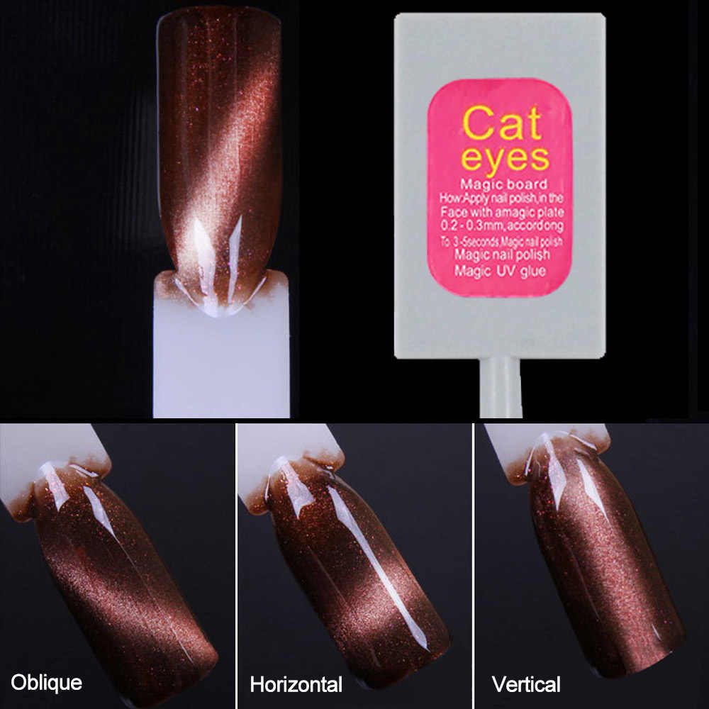MIZHSE ציפורניים ג 'ל פולני חתול עין Manget מקל UV ג' ל לק סט Gellak בת ים פרל מגנטי חתול של העין לכה היברידי סטים
